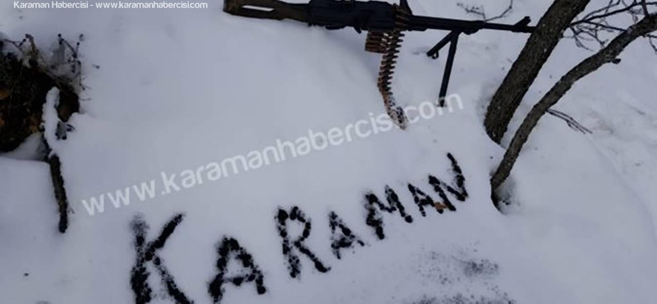 Tunceli'deki Kahramanlarımızdan Karaman'a Selam Var