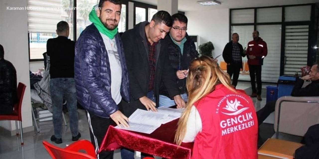 Mersin Gençlik Ve Spor İl Müdürlüğü Personellerinden Kan Bağışı