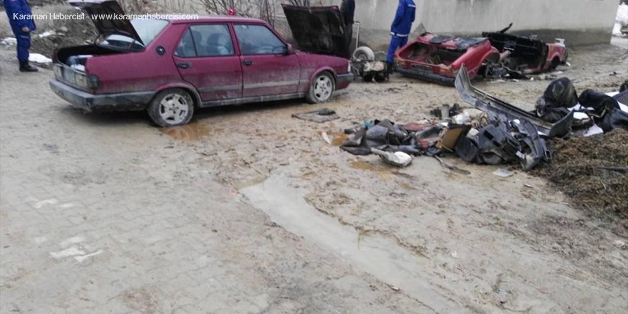 Konya'da Araba Hırsızı Yakalandı