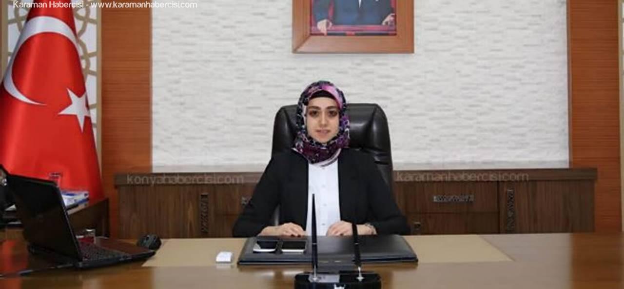Türkiye'nin İlk Başörtülü Kaymakamı Konya'da Görevine Başladı