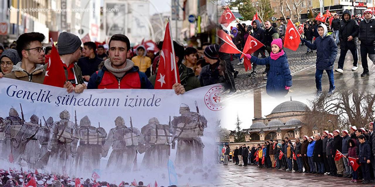 Sarıkamış Şehitleri Karaman'da da Yâd Edildi