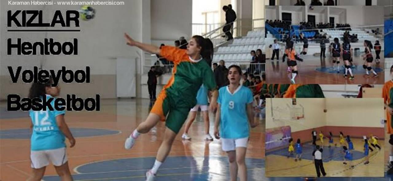Okullar Arası Müsabakalarda Kızlarda Şampiyonlar Belli Oldu