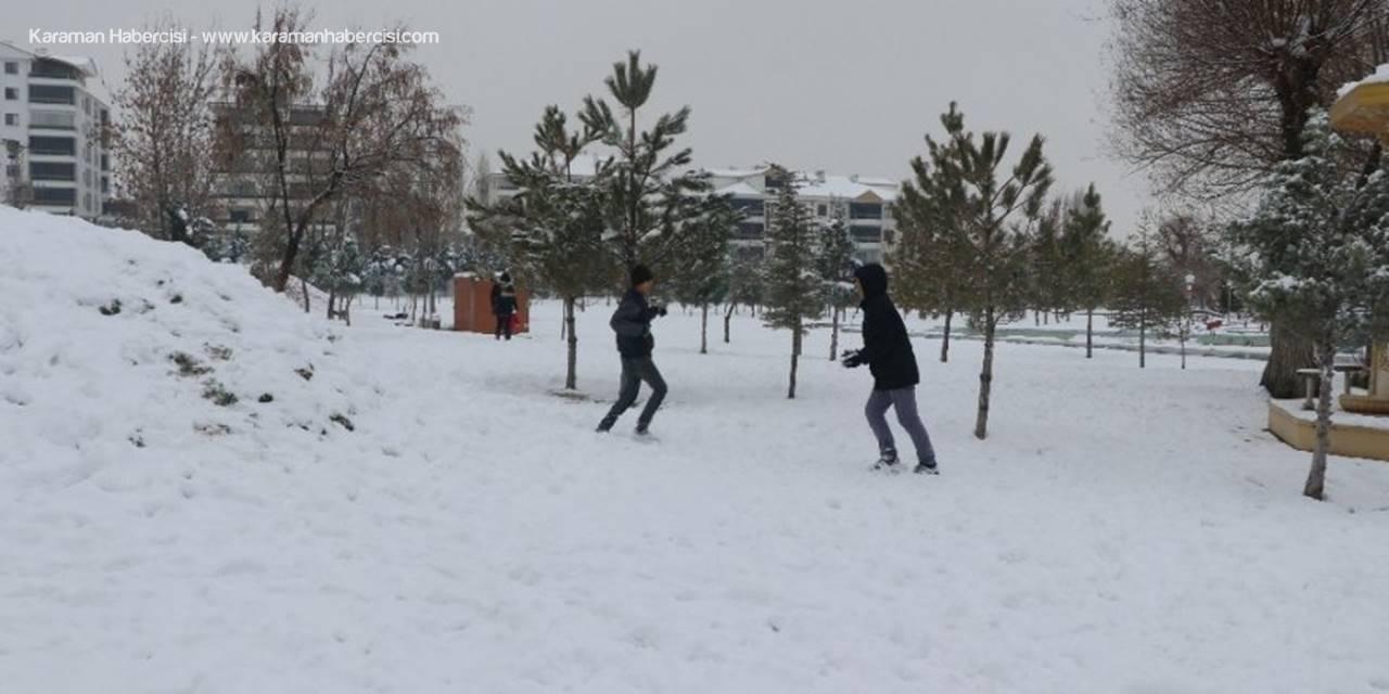 Aksaray'da Eğitime Bir Gün Ara Verildi