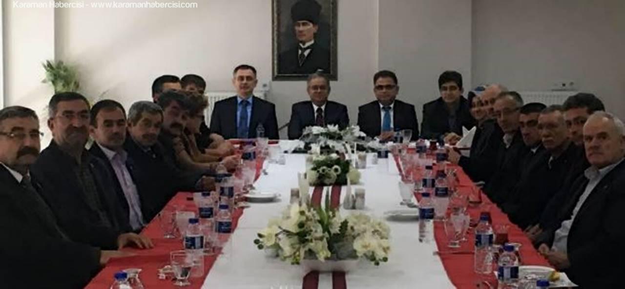 Vali Tapsız,İl Genel Meclisi Üyeleri İle Buluştu