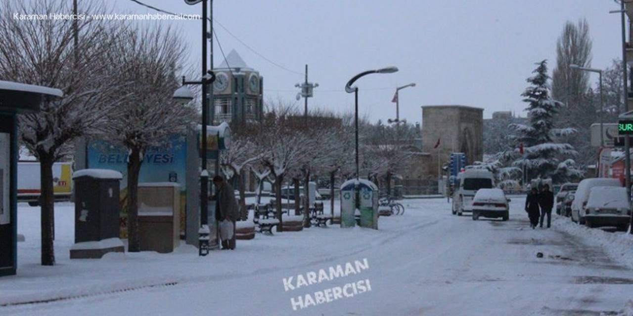 Karaman'da Karlı Bir Günün Ardından