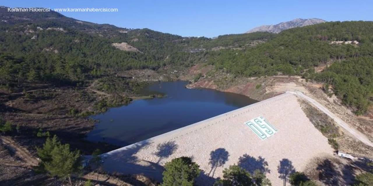 Antalya Adrasan Sulama Göleti Su Tutmaya Başladı