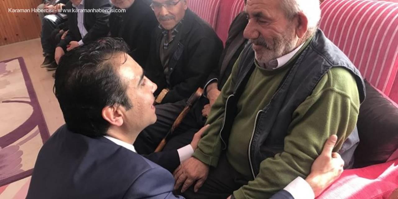 MHP Karaman Belediye Başkan Adayı Savaş Kalaycı Huzurevi Ziyaretinde Bulundu
