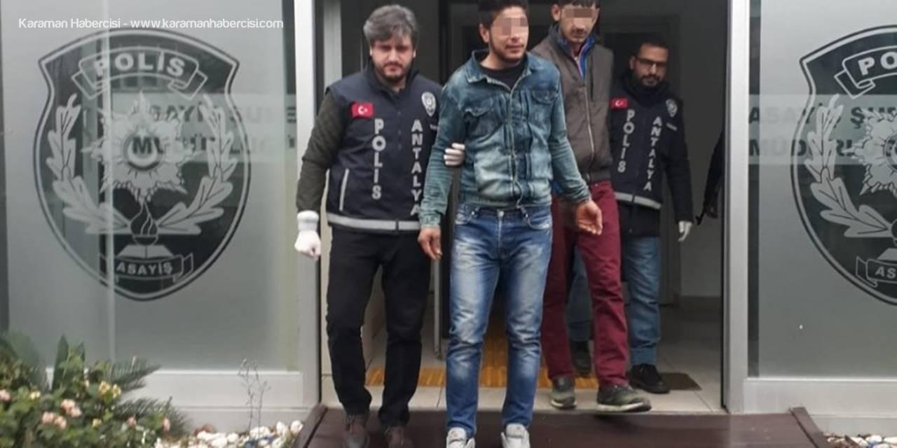 Antalya'da Hırsızlık