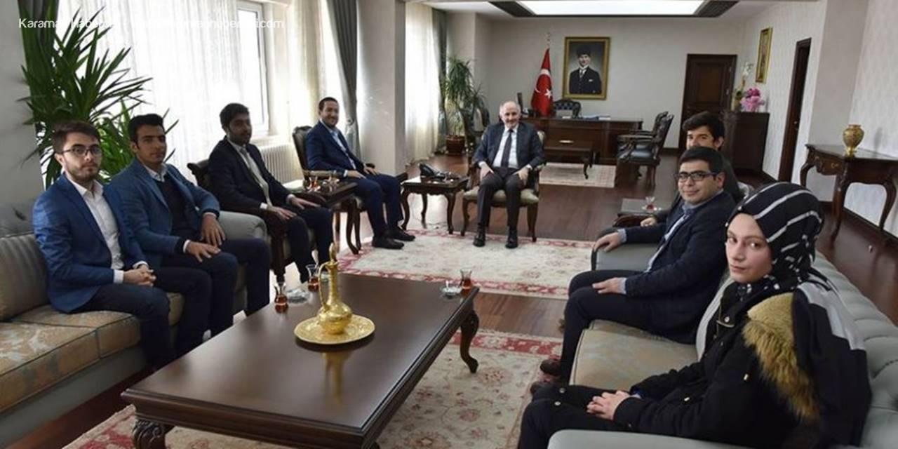 TÜGVA'dan Karaman Valisi Fahri Meral'e Ziyaret
