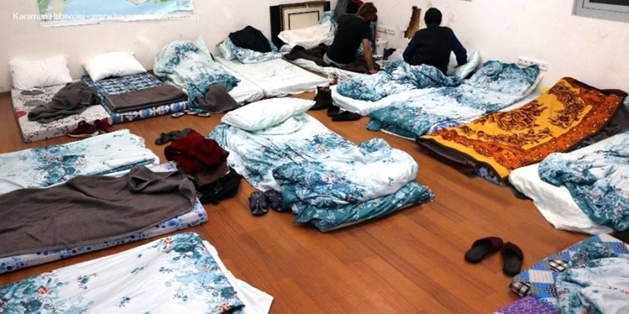 Antalya'da Evsizlere Büyükşehir Belediyesi Sahip Çıktı