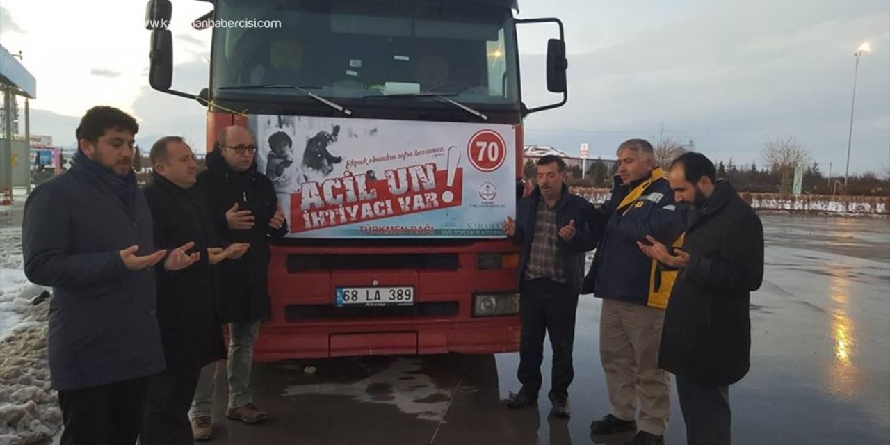 Karaman'dan Türkmenlere Yardım