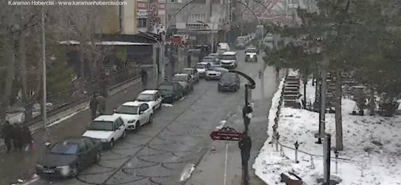 Konya, Karaman, Aksaray ve Niğde İllerinde Kar Yağışı Uyarısı
