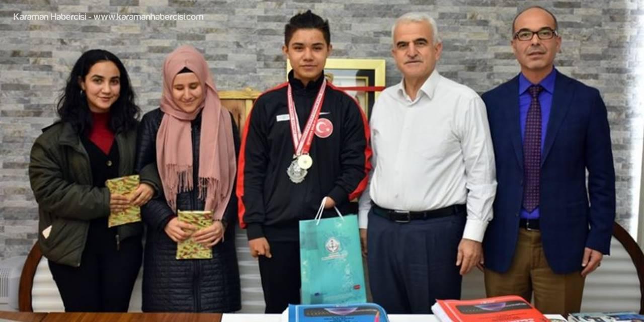 Karamanlı Öğrenci Türkiye Para-Taekwondo Şampiyonası'nda Gümüş Madalya Sahibi Oldu