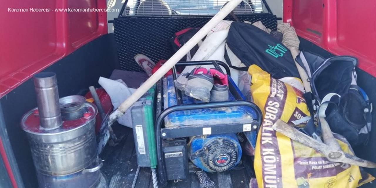 Konya'da Define Aramak İçin Hazırladıkları Patlayıcı İnfilak Etti: 2 Yaralı