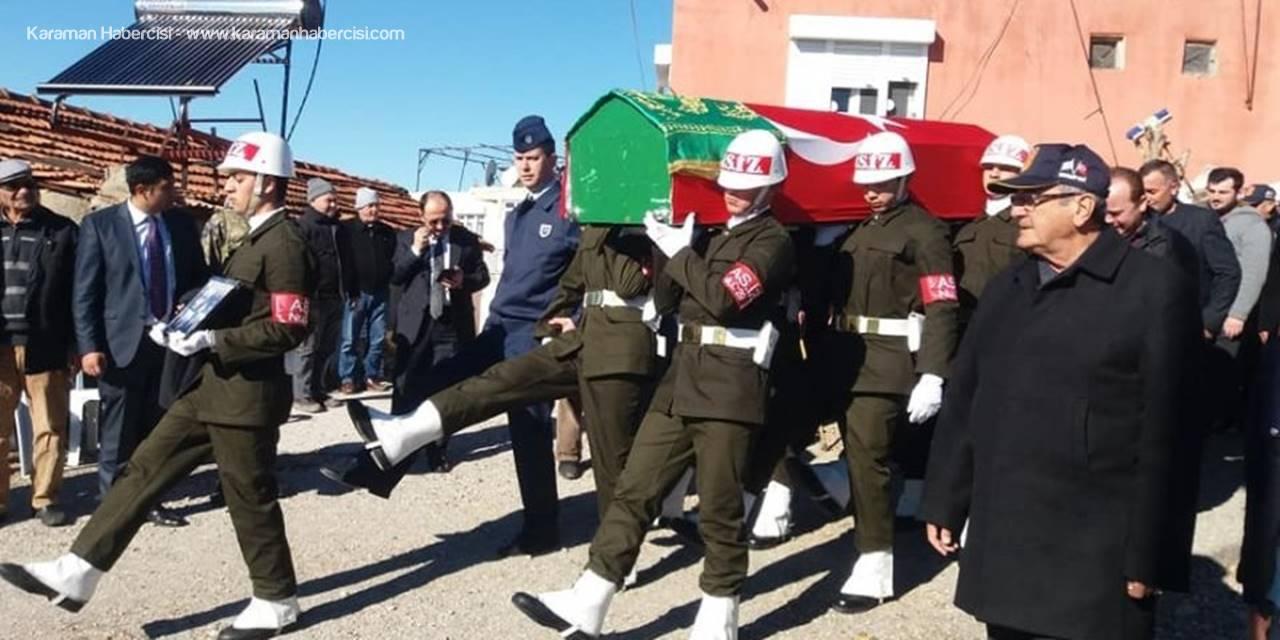 Kıbrıs Gazisi Antalya'da Son Yolculuğuna Uğurlandı