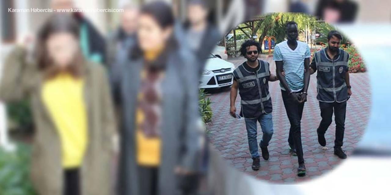 Antalya'da Taşla Dehşeti Yaşatan Sudanlı Saldırgan Yargılanıyor