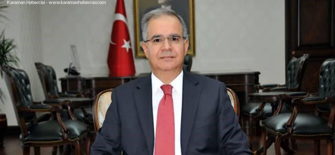 Karaman Valisi Süleyman Tapsız Çalışan Gazeteciler Günü Mesajı