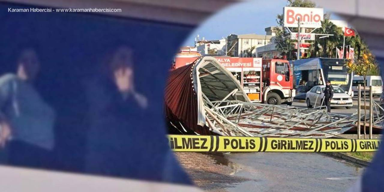Antalya'da Ölümden Saniyeyle Kurtuldu