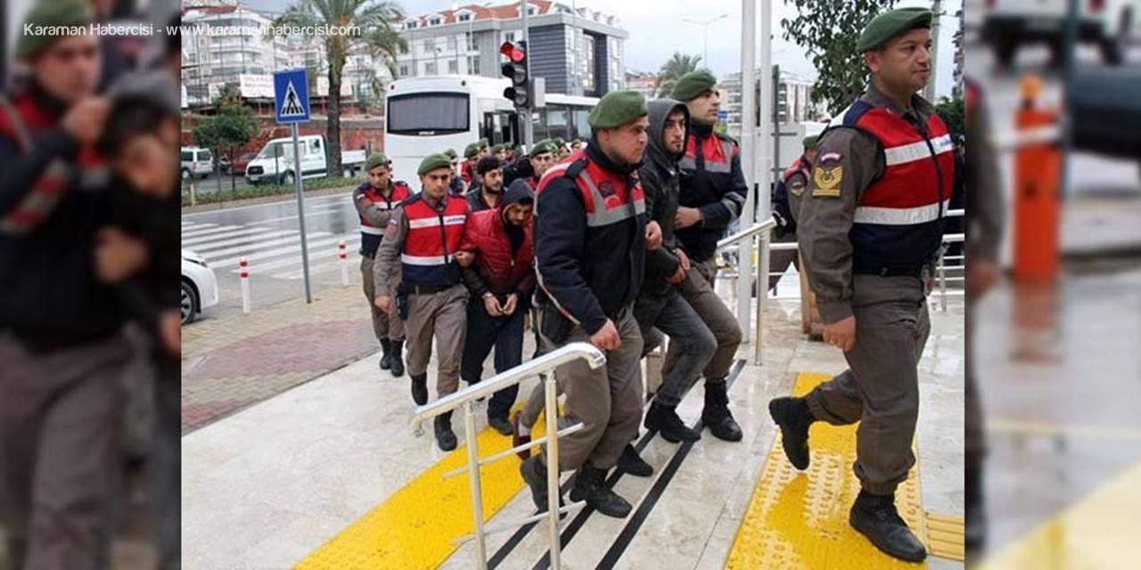 Antalya'nın Alanya İlçesinde Uyuşturucu Tacirlerine Ceza Yağdı