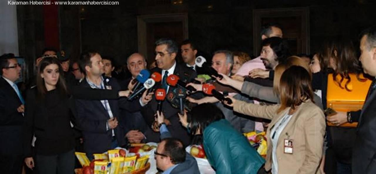 Ak Parti Karaman Milletvekili Recep Konuk Çalışan Gazeteciler Günü Mesajı