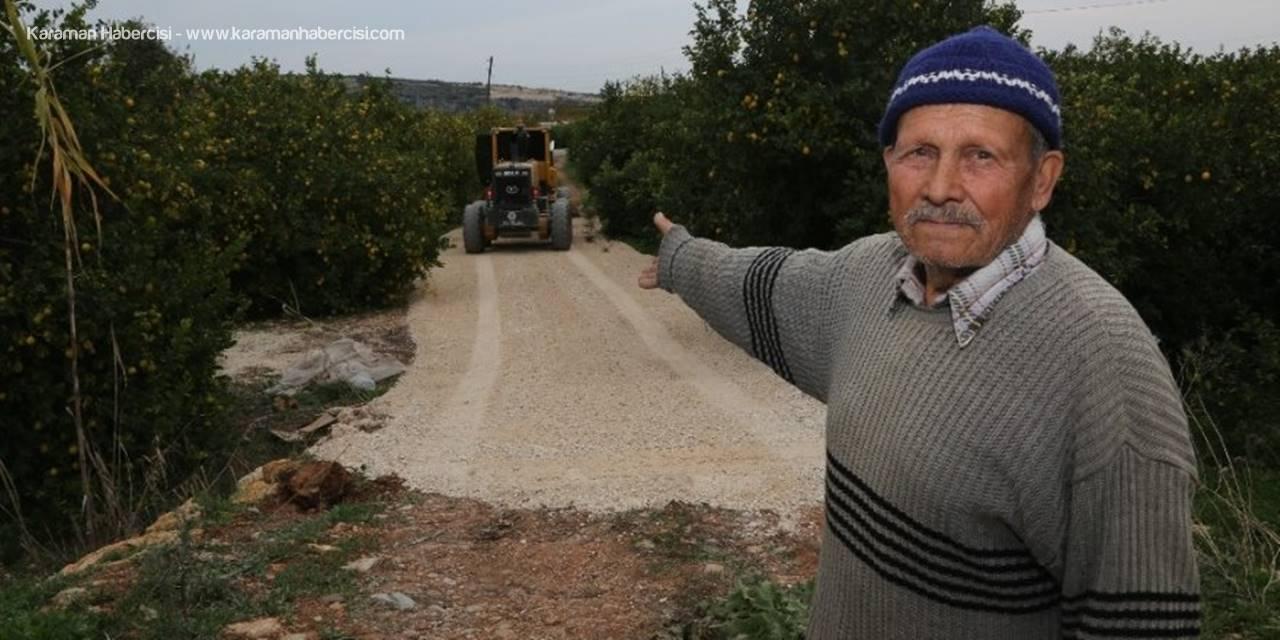 Mersin Erdemli'de Alt Yapı, Bakım, Onarım Ve Yol Yapımı Çalışması Sürüyor