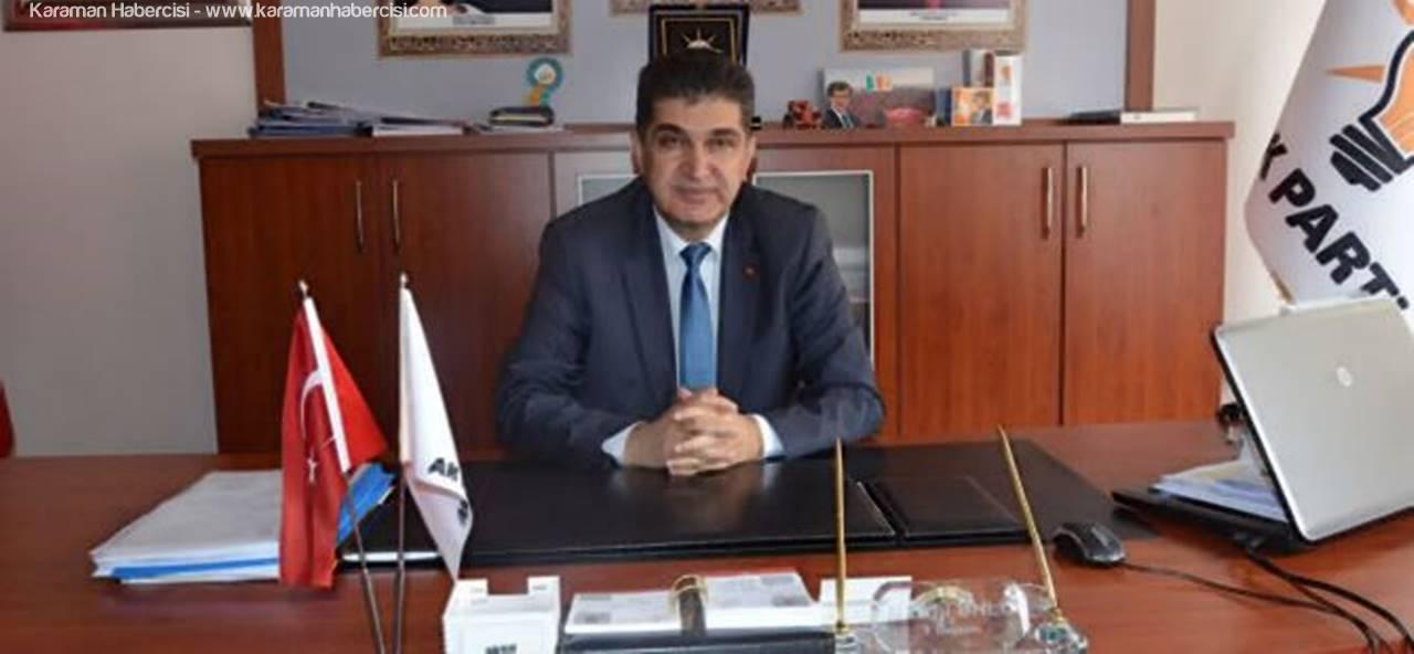 AK Parti Karaman İl Başkanı Nazmi Ünlü Miraç Kandili Mesajı