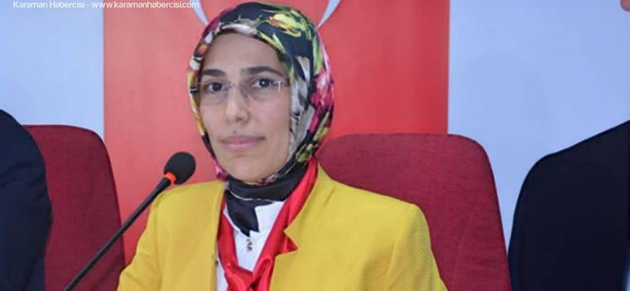 AK Parti Karaman İl Kadın Kolları Başkanı Ümit Gülin Göksoy Miraç Kandili Mesajı