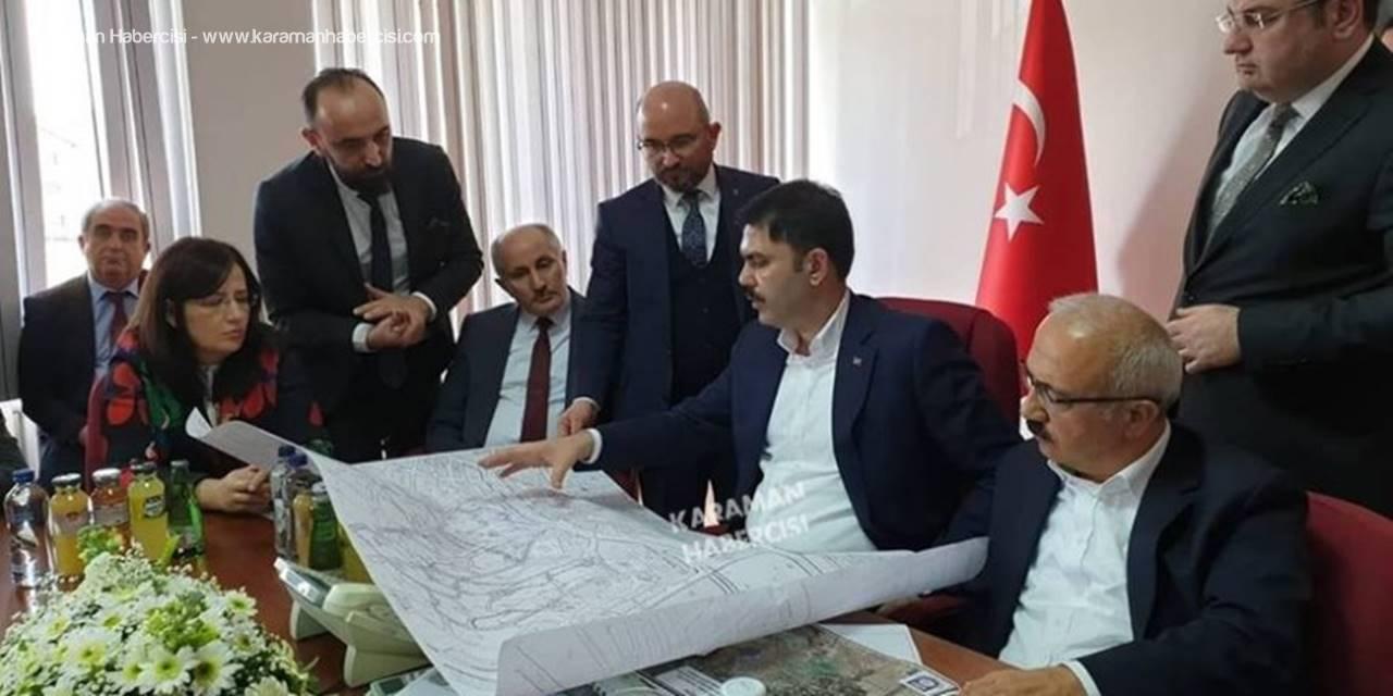 Çevre ve Şehircilik Bakanı Murat Kurum, Karaman'da
