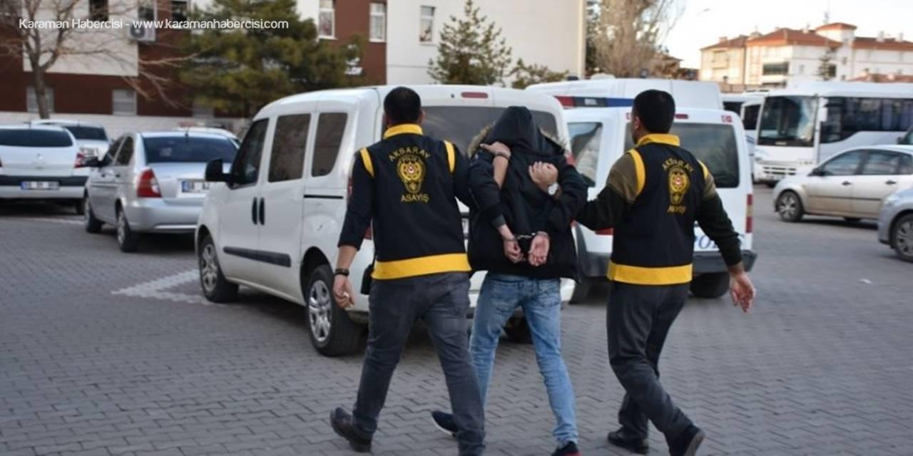 Aksaray'da Kesinleşmiş Hapis Cezası Bulunan 3 Kişi Tutuklandı