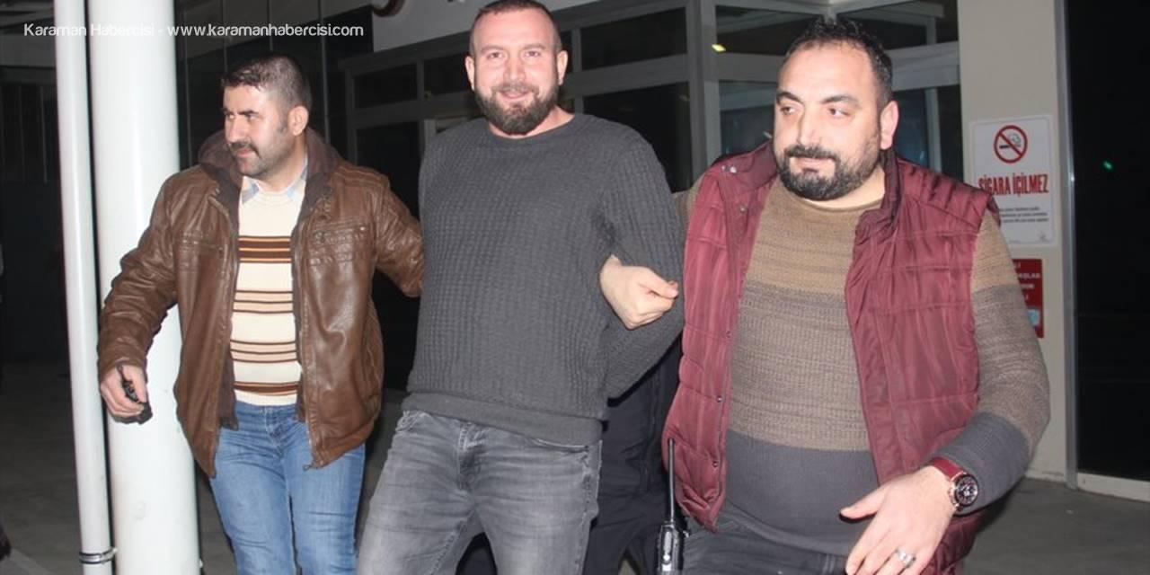 Kılık Değiştiren Suçlu Konya'da Yangın Merdiveninde Yakalandı
