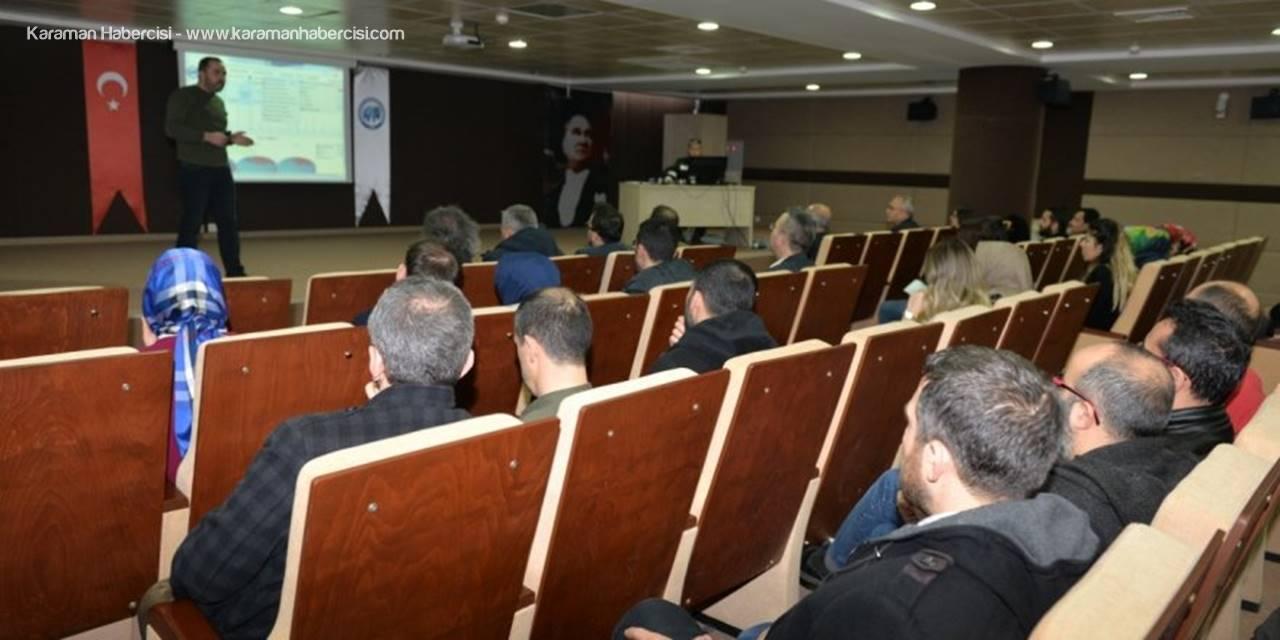 Karaman'da Yönetim Bilişim Sistemi Toplantısı