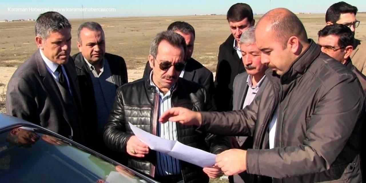 Aksaray Valisi Ali Mantı 2'nci Organize İçin Yer İncelemesinde Bulundu
