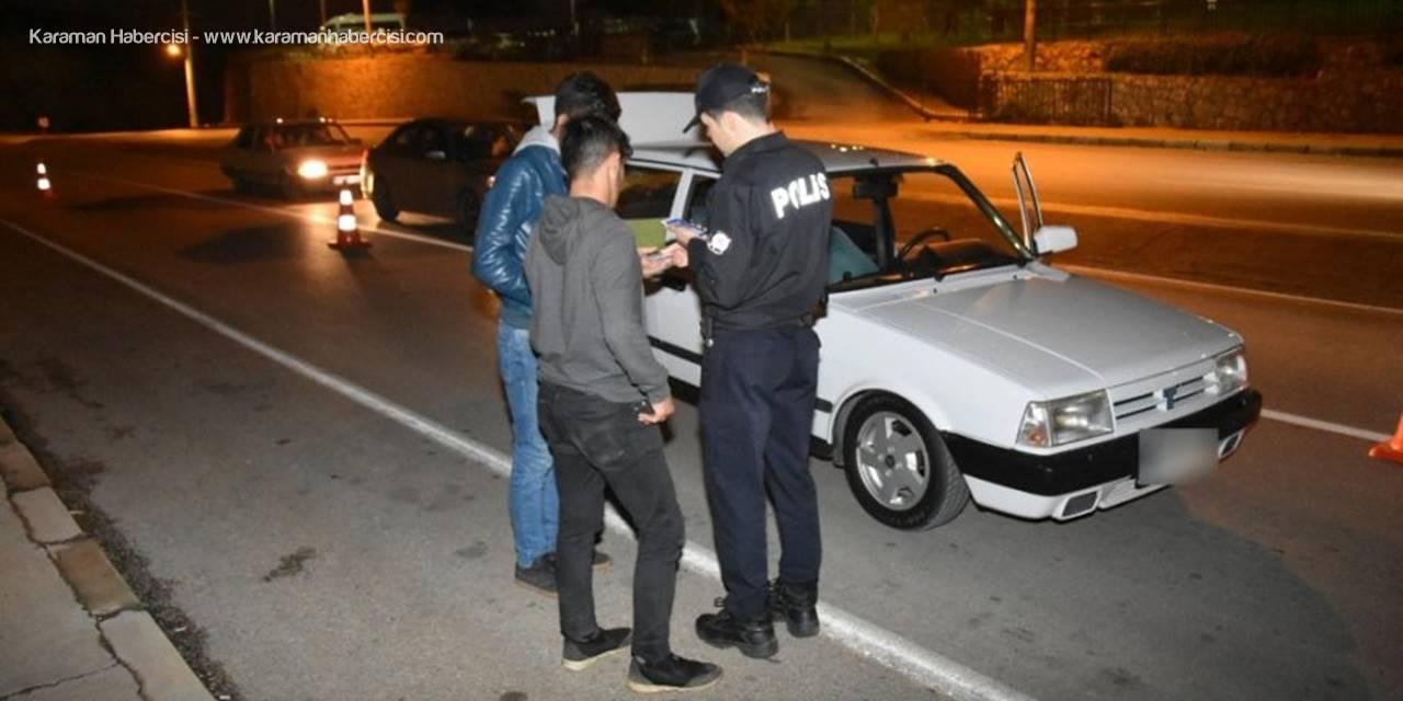 Antalya'da Trafik ve Asayiş Uygulaması