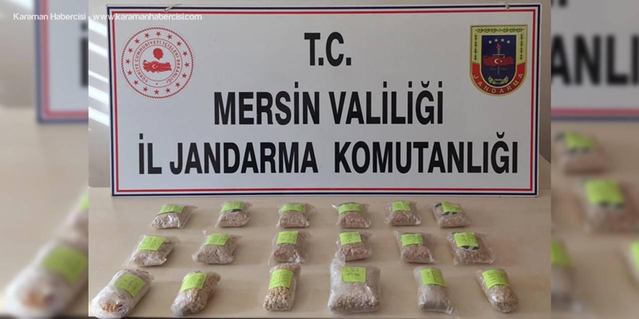 Mersin'de 19 Bin 734 Adet Uyuşturucu Hap Ele Geçirildi