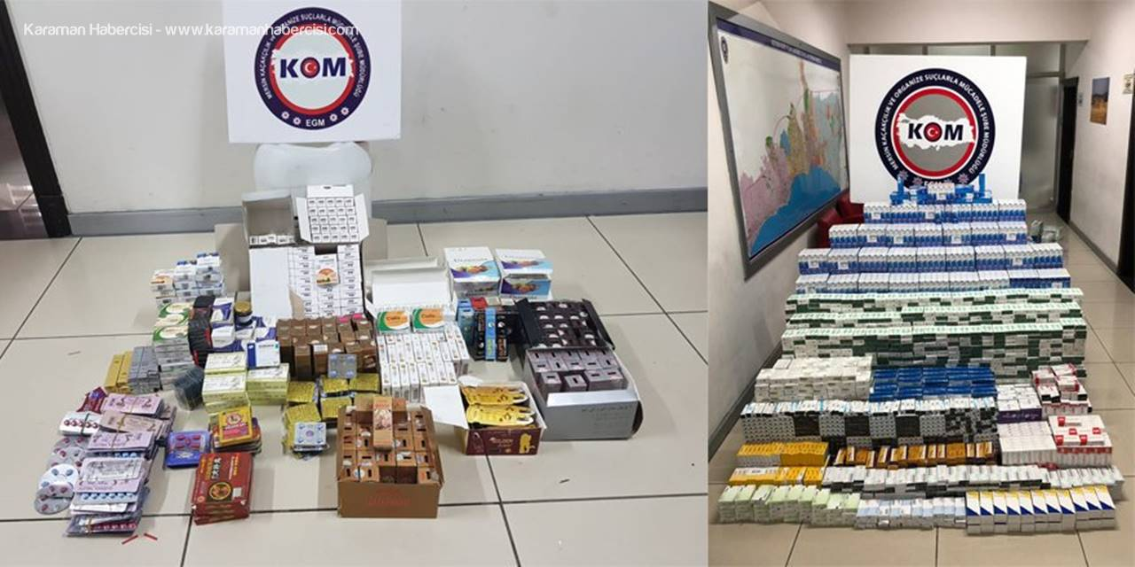 Mersin'de Çekiciden 124 Bin Tıbbi İlaç Çıktı
