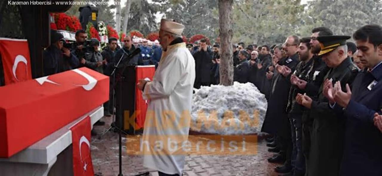 Şehit Astsubay Son Yolculuğuna Konya'da Uğurlandı