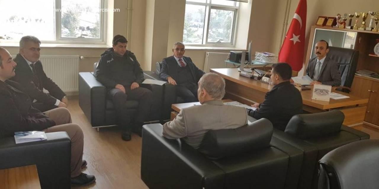 Karaman'da Üniversite Güvenlik Koordinasyon Toplantısı Yapıldı