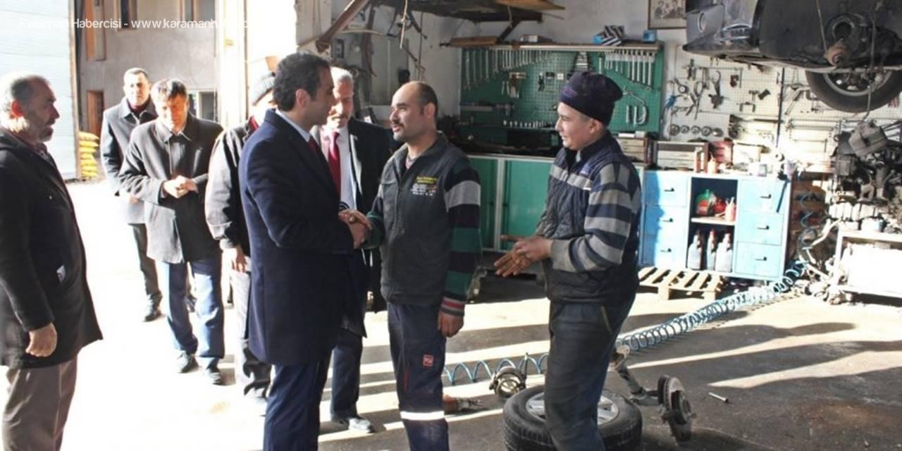 MHP Karaman Belediye Başkan Adayı Savaş Kalaycı Yeniliklere Devam Ediyor