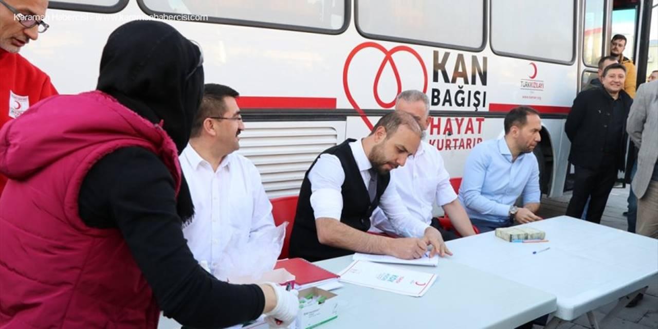Niğde'de Lösemili Ahmet Arif İçin Bağış Kampanyası