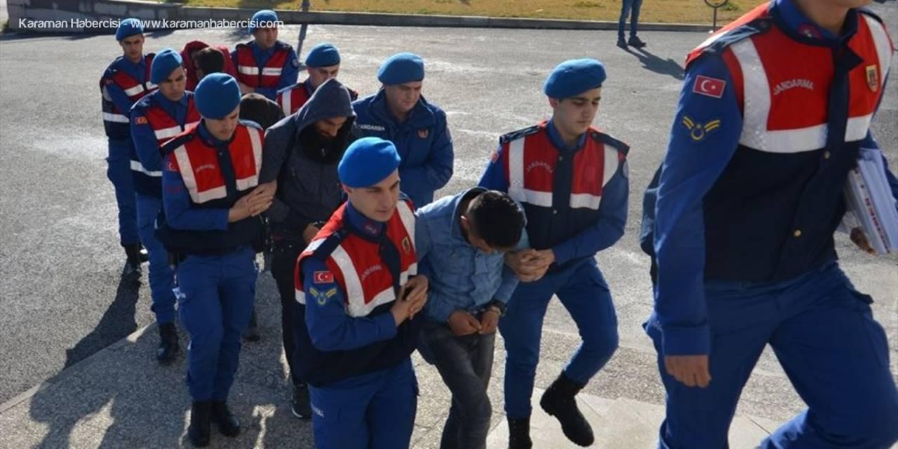 Karaman'da Çaldılar Konya'da Satarken Yakalandılar