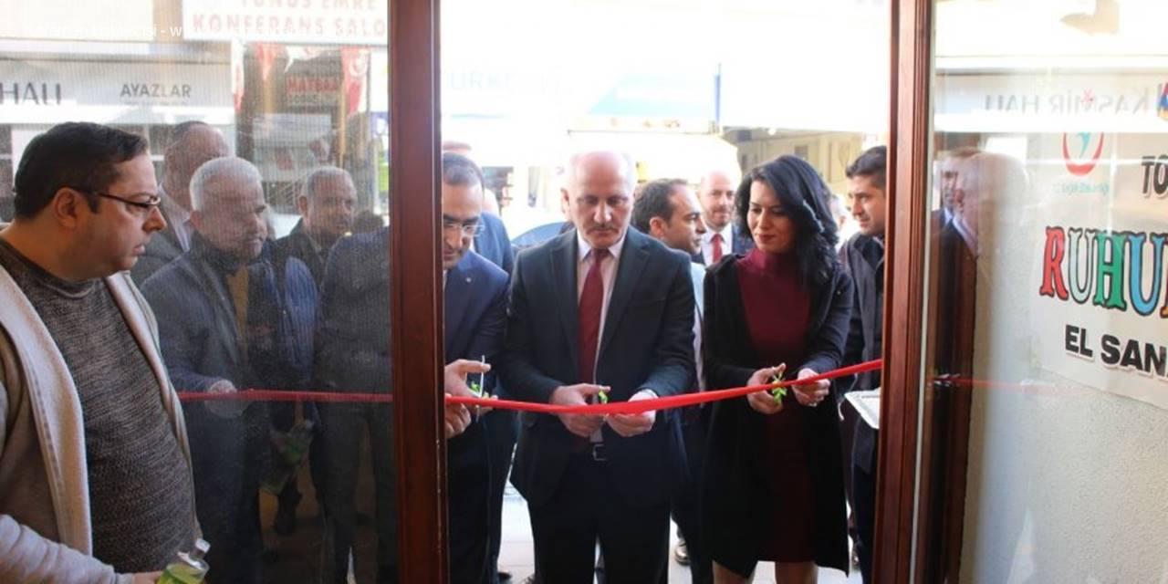 Karaman'da Toplum Ruh Sağlığı Merkezi Sergisi Açıldı