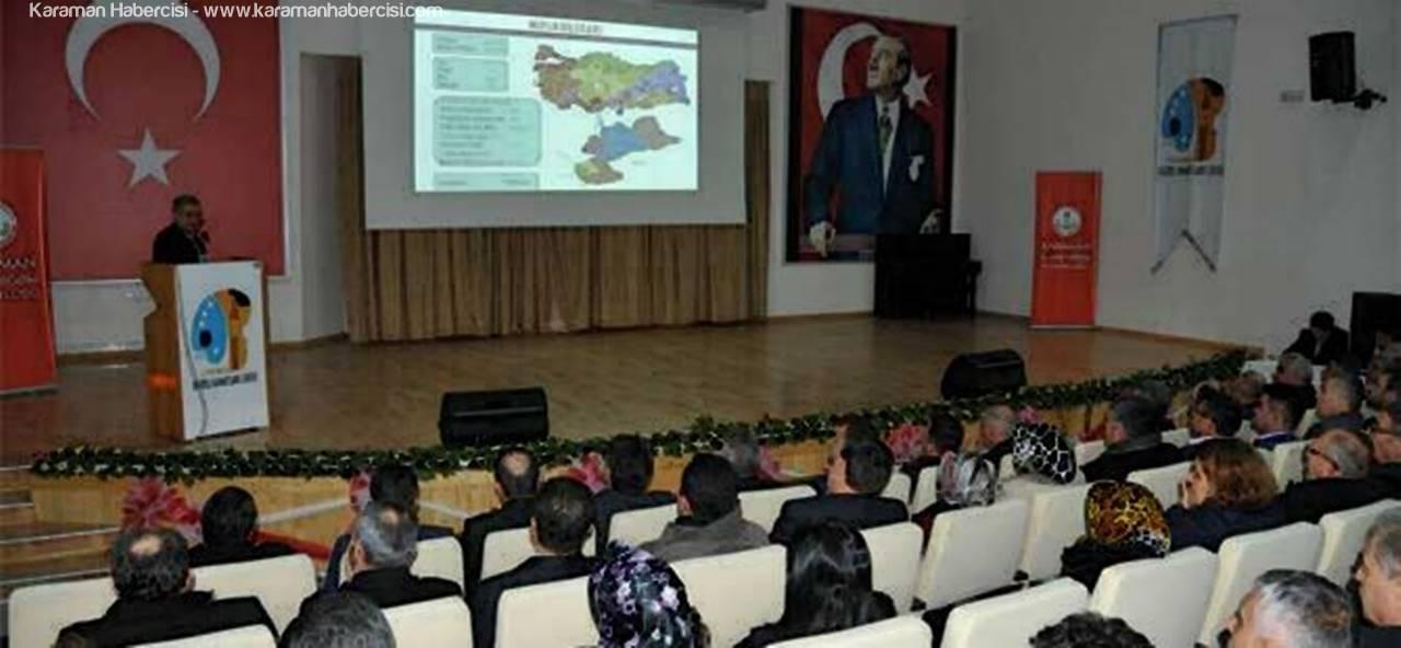 Eğitim Temsilcileri Karaman'da Eğitimi Görüştü