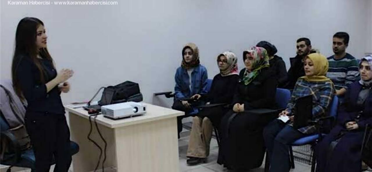 Karaman'da Gençlere Ücretsiz Diksiyon Eğitimi