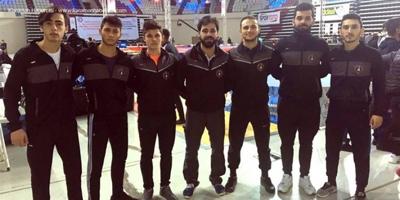Wushu Kung Fu Takımı Sporcuları Karaman'a Mutlu Döndü
