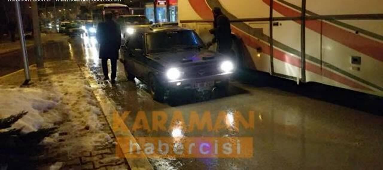 Karaman'da Aranan Şahıslara Işıklarda Gözaltı