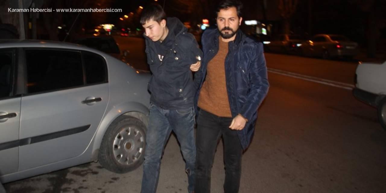 Konya'da Hırsızlar Kapıdaki Ayak İzinden Yakalandılar
