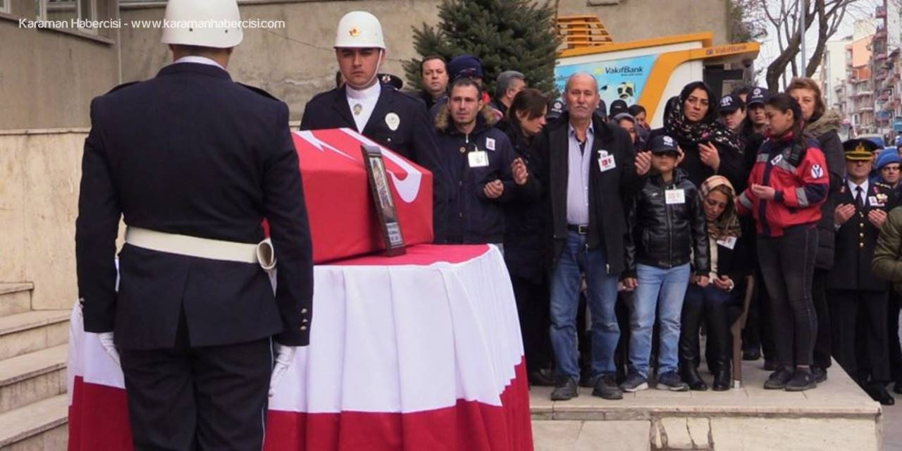 Konyalı Şehit Polis Son Yolculuğuna Uğurlandı