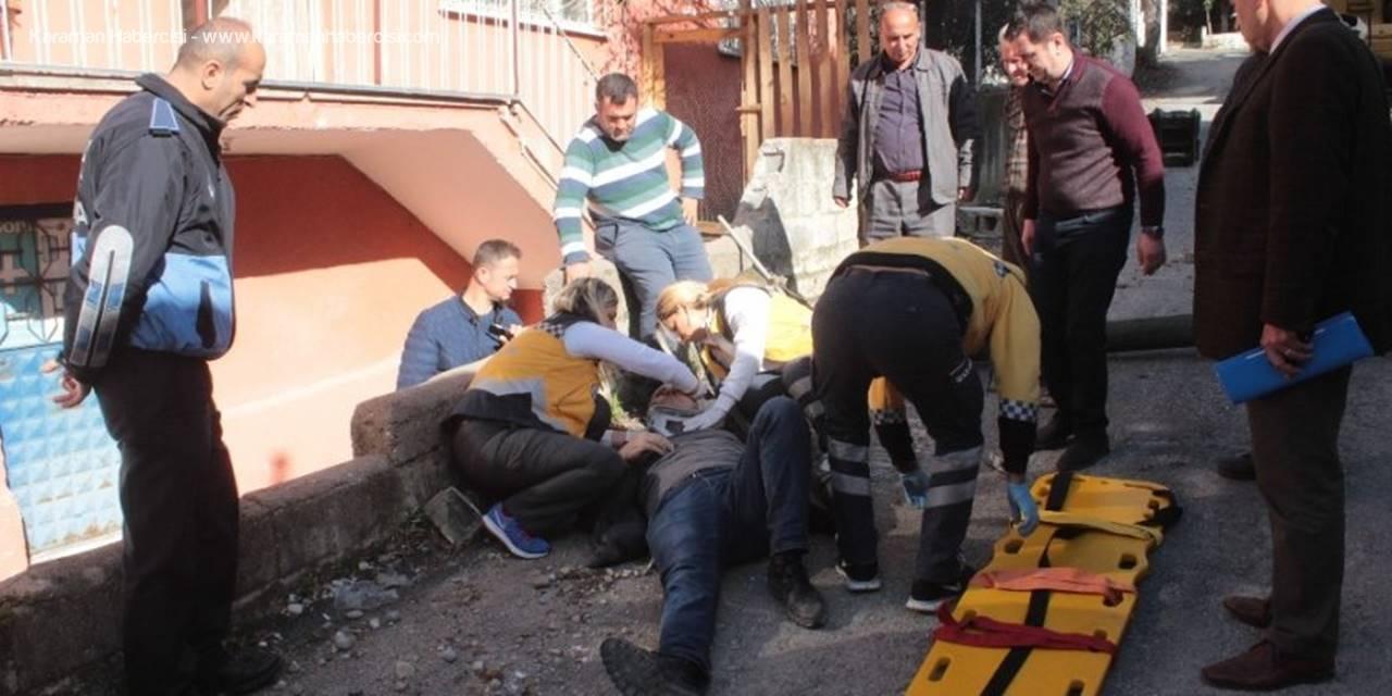 Antalya'da Metruk Bina Yıkımında Görünmez Kaza