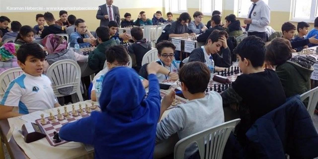 Karaman'da Satranç Müsabakaları Sona Erdi