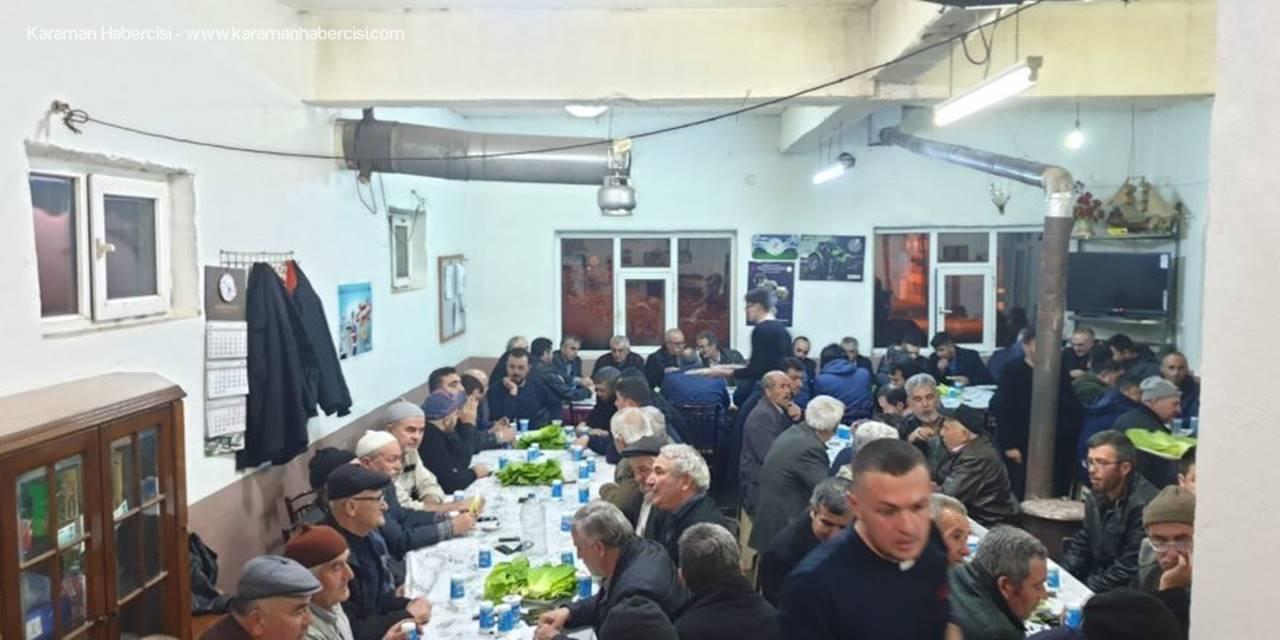Karaman'da Akarköy Halkı Birlik ve Beraberlik Gecesi İçin Bir Araya Geldi